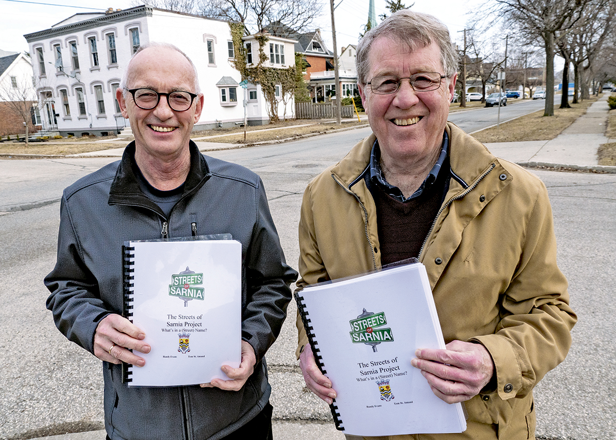 The history of Sarnia's street names now an open book
